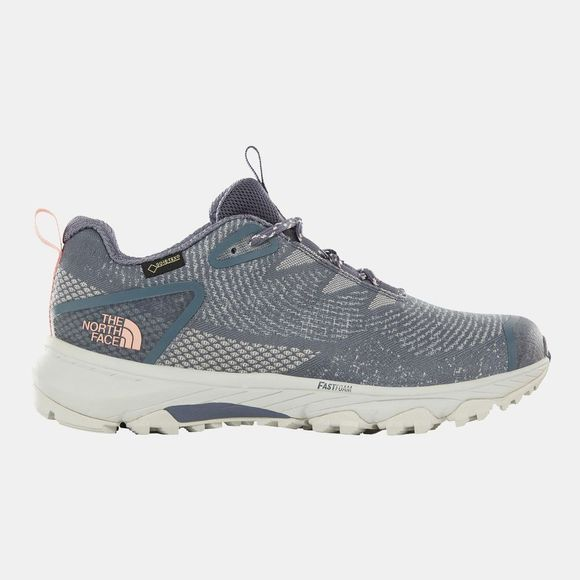 The North Face Womens Ultra Fastpack III Gtx (Woven) Shoes Grisaille Grey/Pink Salt