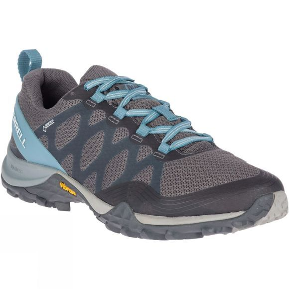 Merrell Womens Siren 3 Gore-Tex Shoes Blue Smoke