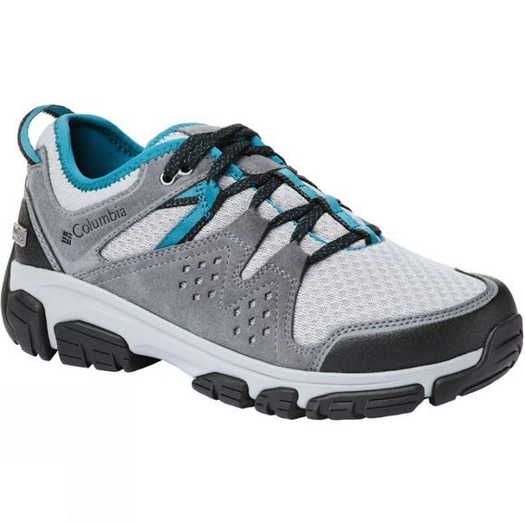Columbia Womens Isoterra Outdry Shoe Steam, Aegean Blue