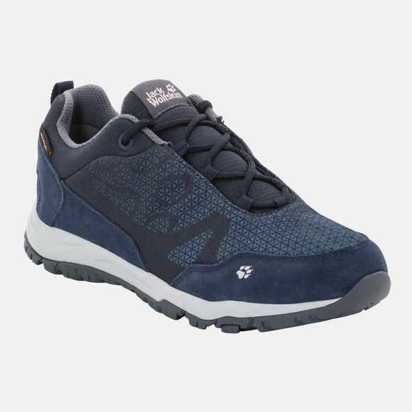 Jack Wolfskin Womens Activate XT Texapore Low Midnight Blue