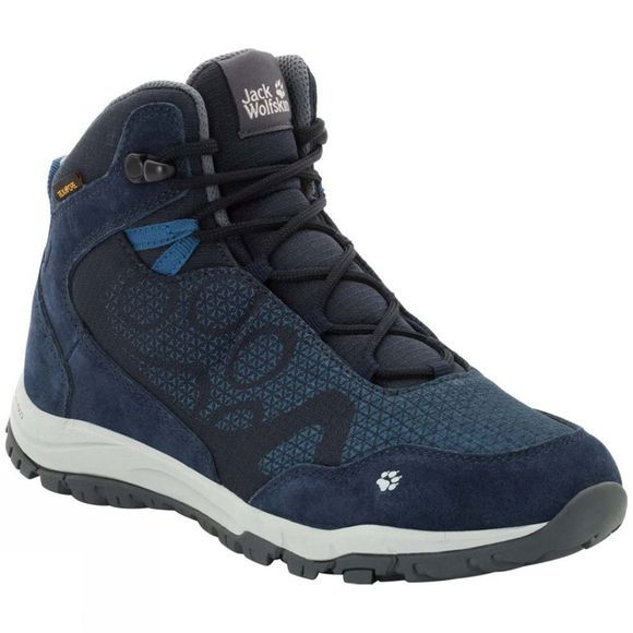 Jack Wolfskin Womens Activate XT Texapore Mid Midnight Blue