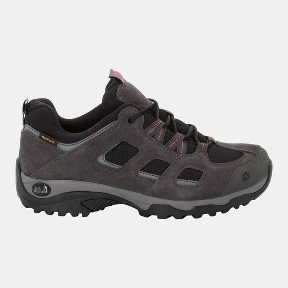 Jack Wolfskin Womens Vojo Hike 2 Low Texapore Dark Steel/Black