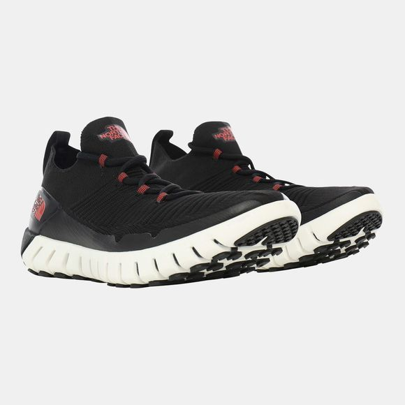 The North Face Womens Oscilate Shoe Tnf Black/Cayenne Red