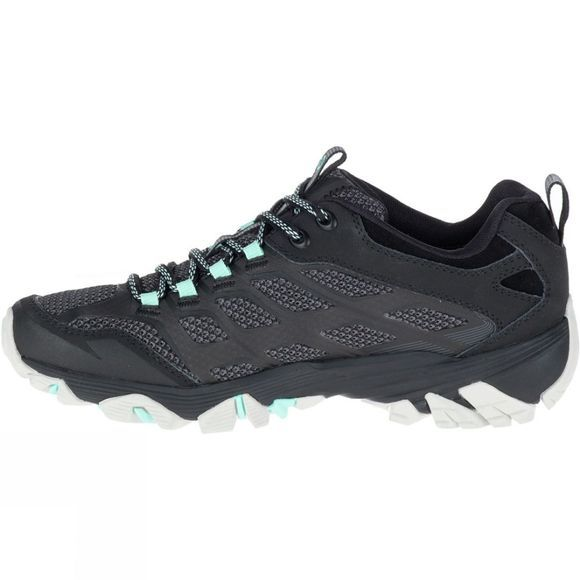 Merrell Womens Moab FST Gore-Tex Shoe Black Teal