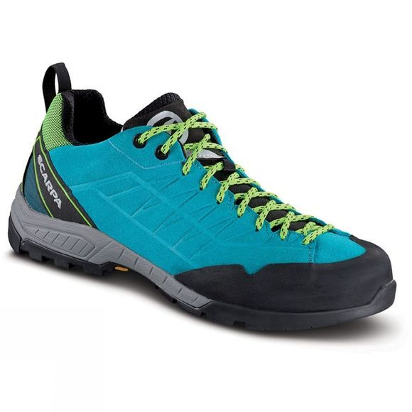 Scarpa Womens Epic Shoe  Pagoda Blue/Lime