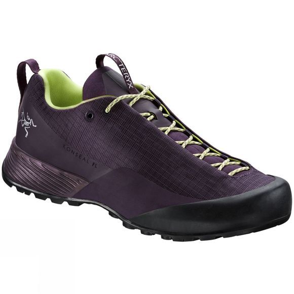Arc'teryx Womens Konseal FL Shoe Purple Reign/Lumen Lime