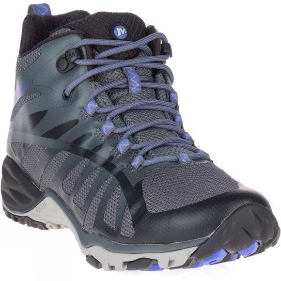 Merrell Womens Siren Edge Q2 Mid Waterproof Shoe Black
