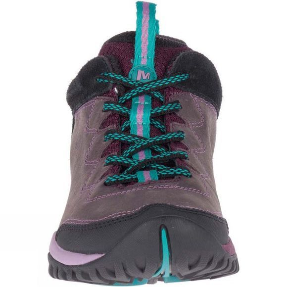 Merrell Womens Siren Traveller Q2 Leather Shoe Berry