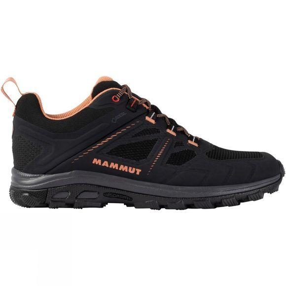 Mammut Womens Osura Low GTX Shoe Black-Baked