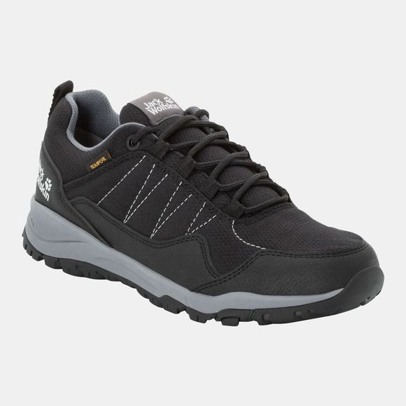Jack Wolfskin Womens Maze Texapore Low Black / Grey