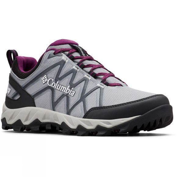 Columbia Womens Peakfreak X2 OutDry Hiking Shoe Monument/ Wild Iris