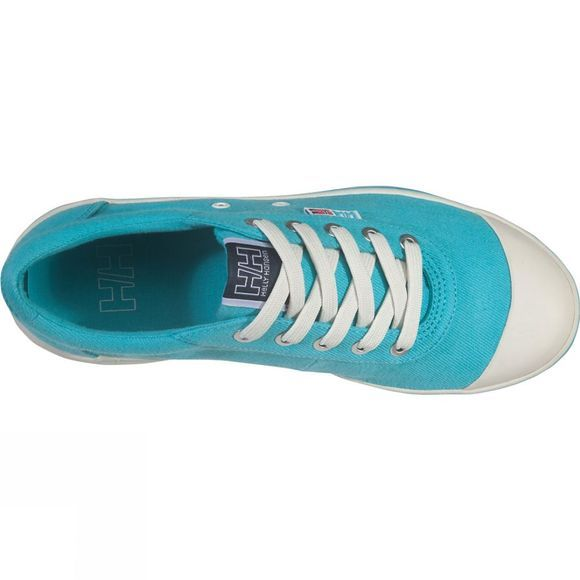 Helly Hansen Womens Salt Lo 2 Shoe Aqua Marine/Off White