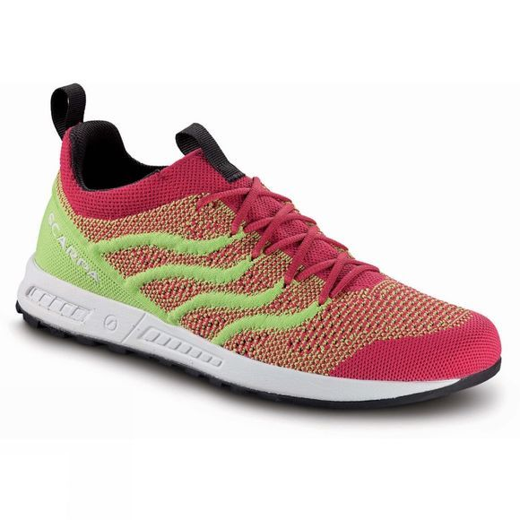 Scarpa Womens Gecko Air Flip Shoe  Raspberry/Lime