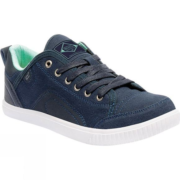 Regatta Womens Turnpike Shoe Navy Blazer / Ice Green