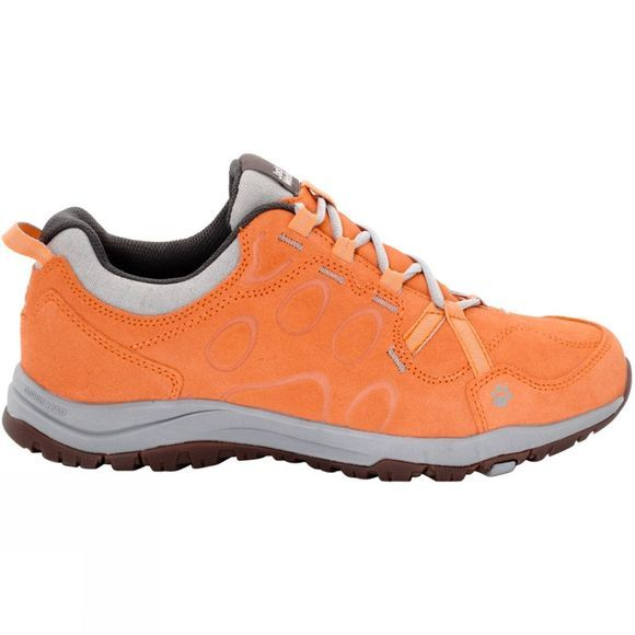 Jack Wolfskin Womens Terra Nova Low Shoe Papaya