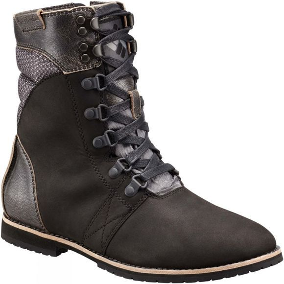 Columbia Womens Twentythird Ave WP Mid Boot Black / Ti Grey Steel