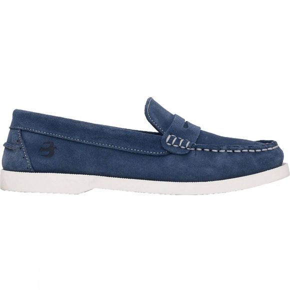 Womens Loafer Blue Shoe