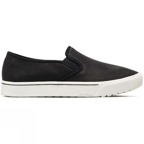Sorel Womens Campsneak Slip-On Shoe Black