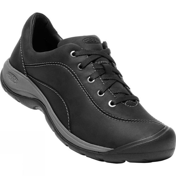 Keen Women's Presidio II Shoes Black/Steel Grey
