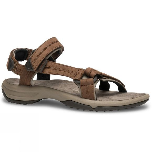 Teva Womens Terra FI Lite Leather Sandal Brown
