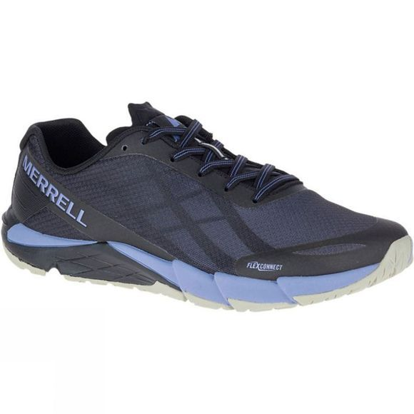 Merrell Womens Bare Access Flex Trainer Black/Metallic Lilac