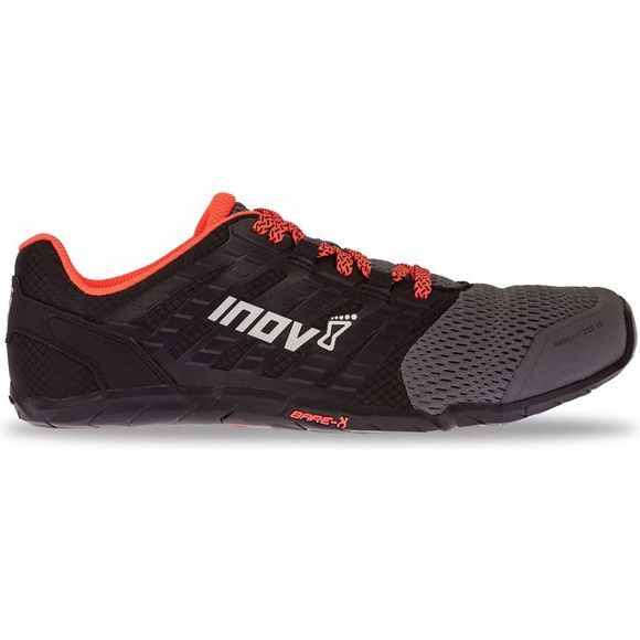 Inov-8 Womens Bare-Xf 210 V2 Training Shoe Grey/ Black/ Coral