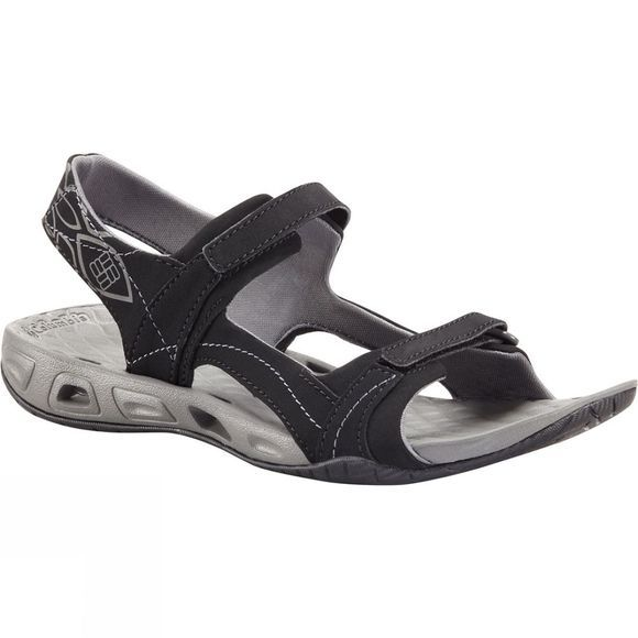 Columbia Womens Sunlight Vent II Sandal Black/ Charcoal