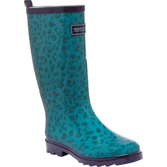 Regatta Womens Fairweather Welly Enamel/Moonlight