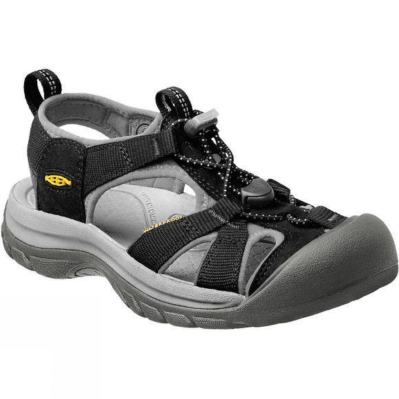 Keen Venice H2 Black Neutral Grey Womens Closed-Toe Slip-On Hiking Sandals