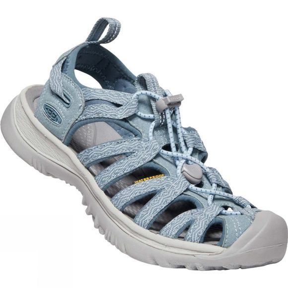 Keen Womens Whisper Sandal Citadel/Blue Mirage