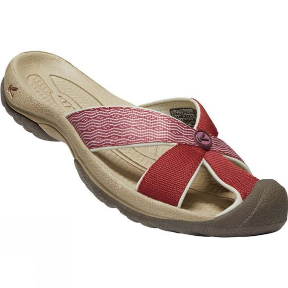 Keen Womens Bali Sandal Fired Brick/Tulipwood