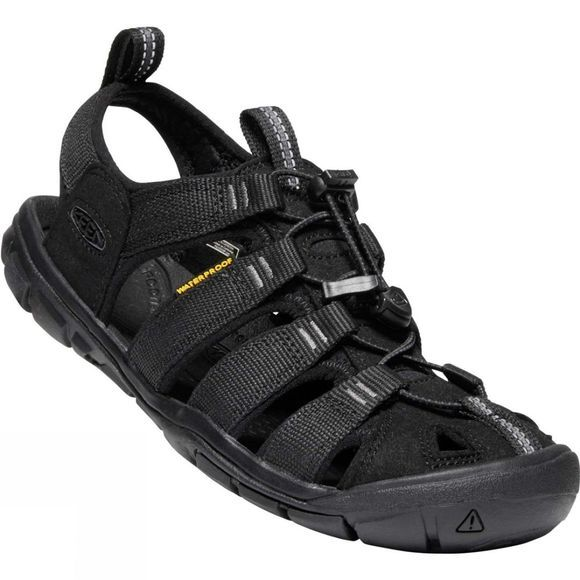 Keen Womens Clearwater CNX Sandal Black/Black