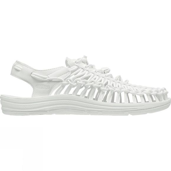 Keen Womens Uneek Round Cord Shoe Star White