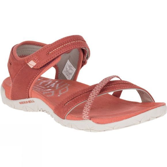 Merrell Womens Terran Cross II Sandal Redwood