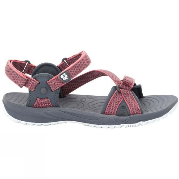 Jack Wolfskin Womens Lakewood Ride Sandal Rose Quartz