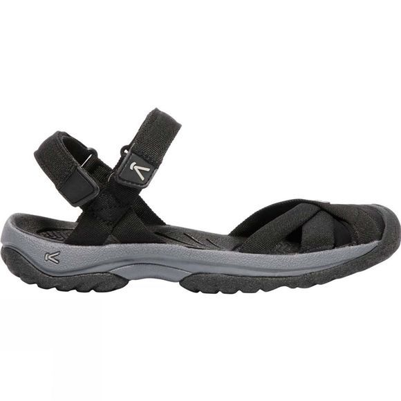 Keen Womens Bali Strap Sandal Black/Steel Grey