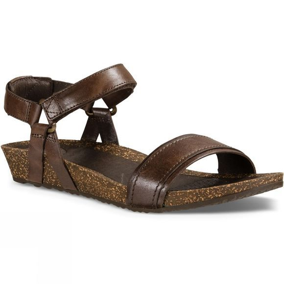 Teva Womens Ysidro Stitch Sandal Metallic Brown Metallic
