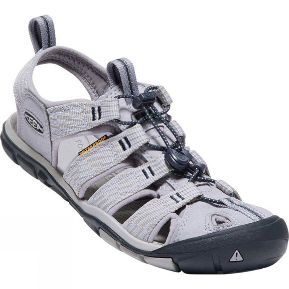 Keen Womens Clearwater CNX Sandal Dapple Grey/Dress Blue