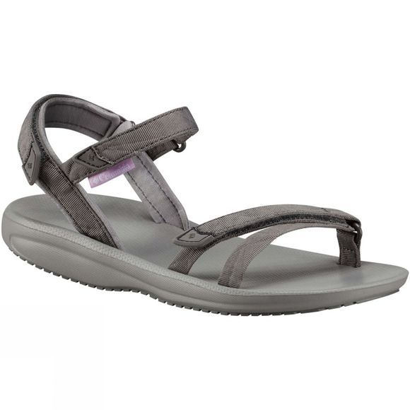 Columbia Womens Big Water Sandal Titanium MHW/White
