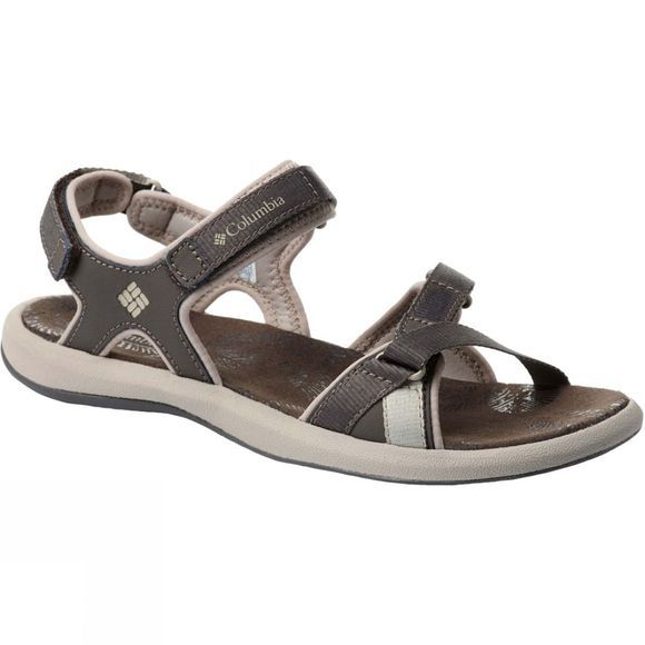 Columbia Womens Kyra III Sandal Mud, Ancient Fossil