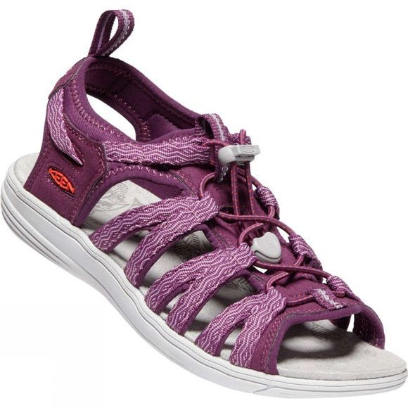 Keen Women's Damaya Lattice Sandal Grape Kiss/Grape Wine