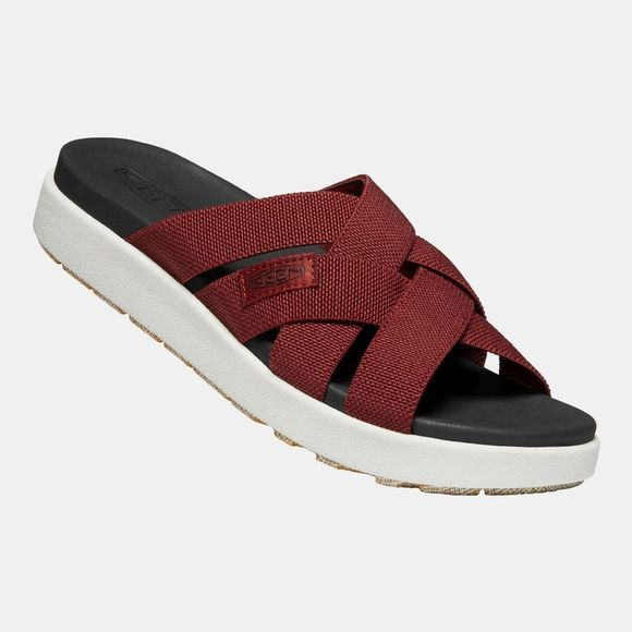 Keen Women's Elle Slide Sandal Fired Brick