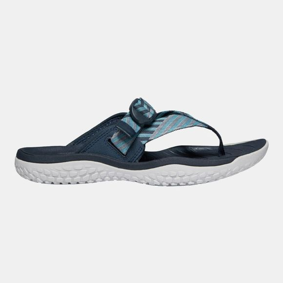 Keen Women's Solr Toe Post Sandal Navy/Blue Mist