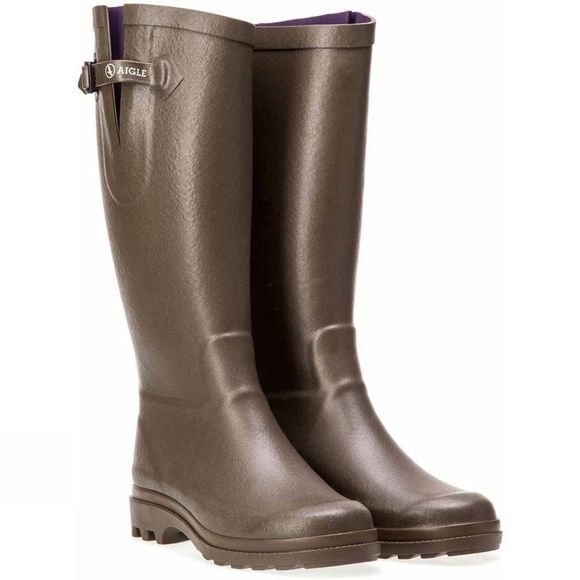 Aigle Womens Aiglentine Welly Khaki