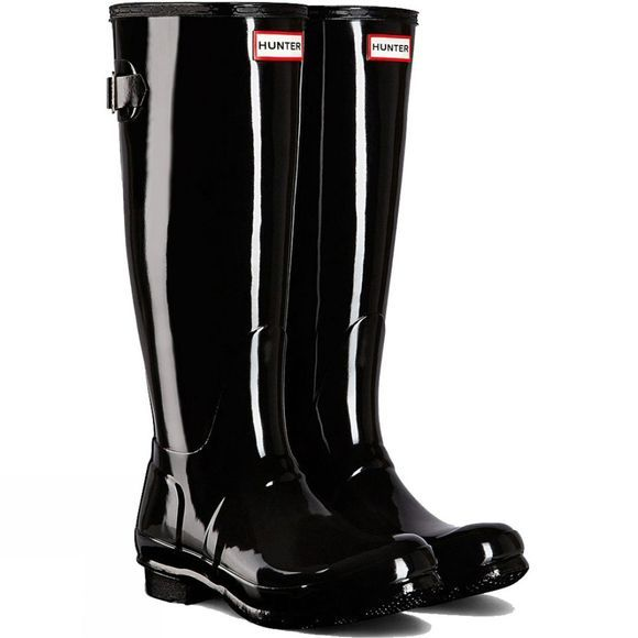 Womens Original Back Adjustable Gloss Welly