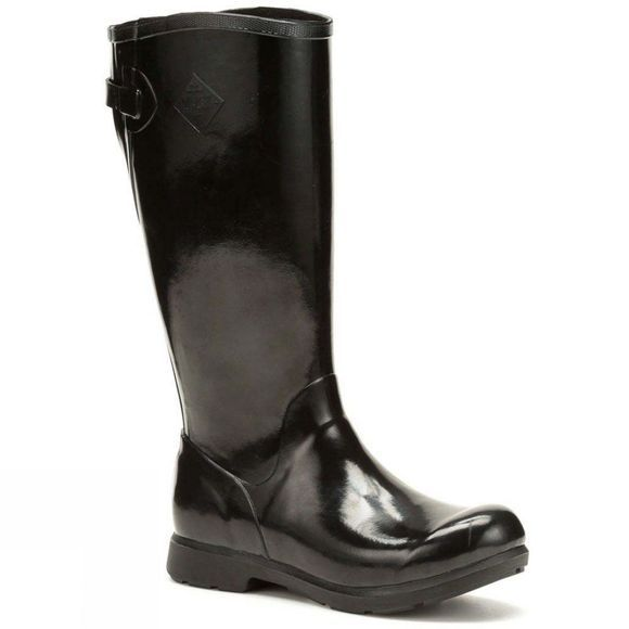 Muck Boot Womens Bergen Tall Boot Black