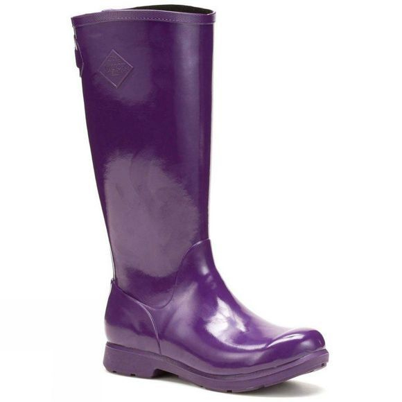 Muck Boot Womens Bergen Tall Boot Purple