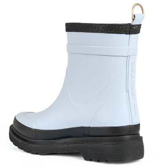 Ilse Jacobsen Short Rubber Boot White Blue