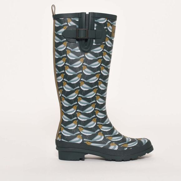 Brakeburn Finch wellies Forest Green