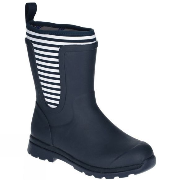 Muck Boot Womens Cambridge Mid Boot Navy/White